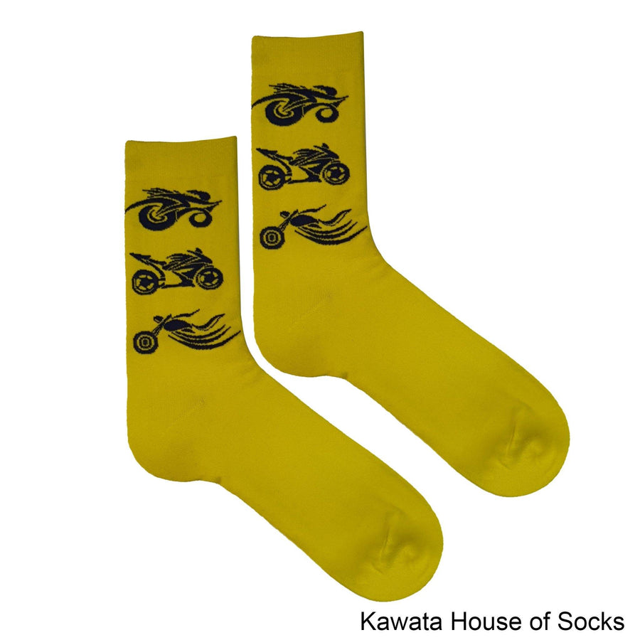 Casual Mid Calf Motorbike Socks - Kawata House of Socks