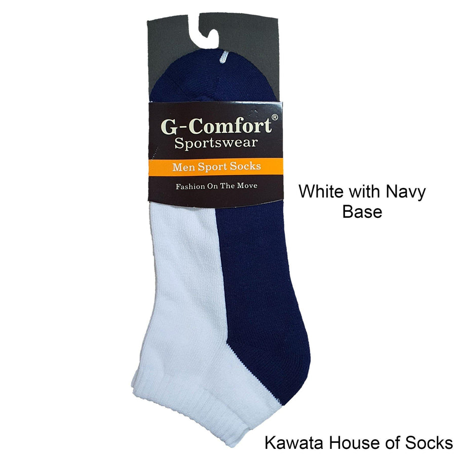 Padded Two Tone Socks - Kawata House of Socks