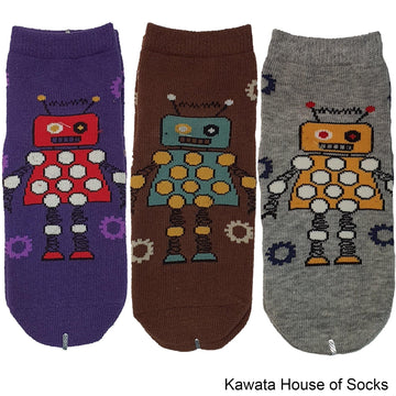 Anti-Slip Robot Series 1 Socks - Kawata House of Socks