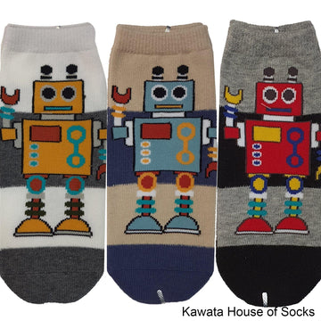 Anti-Slip Robot Series 2 Socks - Kawata House of Socks