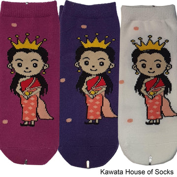 Anti-Slip Princess Series 1 Socks - Kawata House of Socks