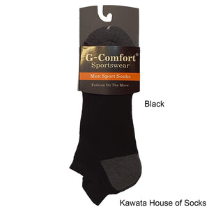 Casual Padded Ankle Heel Tab Socks - Kawata House of Socks