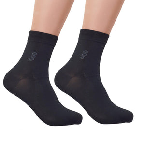 Anti-Odour Crew Spiral Business Socks - Kawata House of Socks