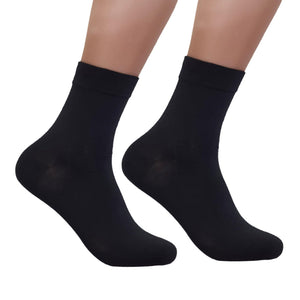 Anti-Odour Crew Plain Business Socks - Kawata House of Socks