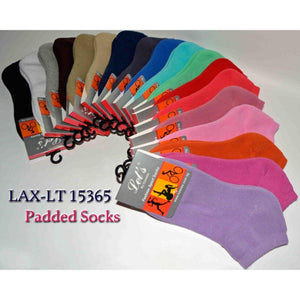 Plain Padded Sport Socks - Kawata House of Socks