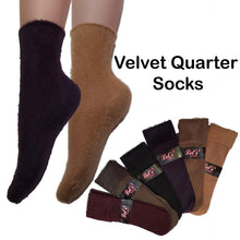 Load image into Gallery viewer, Quarter Fuzzy Socks / Winter Socks - Kawata House of Socks