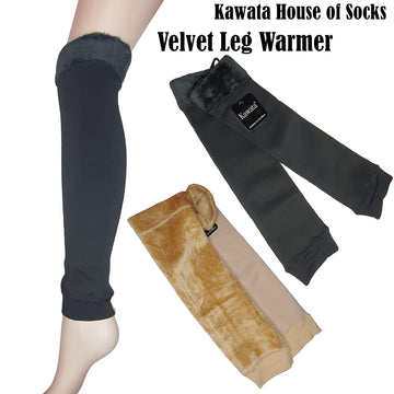 Velvet Leg Warmer ( Free Size ) - Kawata House of Socks