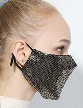 Load image into Gallery viewer, Bling Bling Washable Mask - Kawata House of Socks