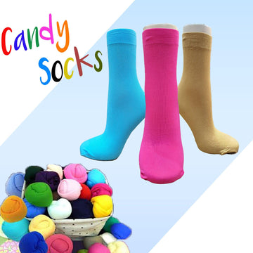 Candy Socks | Stocking | Nylon Socks (5 Pairs ) - Kawata House of Socks