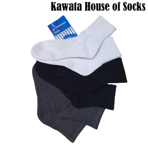 Padded Crew Socks / Padded Quarter Socks / Padded Sport Socks / Thick Socks - Kawata House of Socks