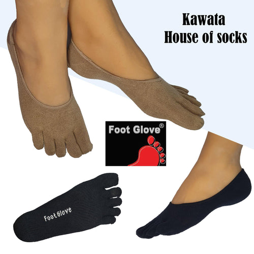 Ladies Loafer Toe Socks / Invisible Toe Socks / No-Show Toe Socks - Kawata House of Socks