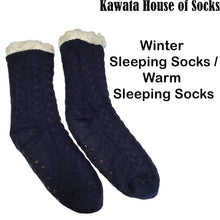 Load image into Gallery viewer, Winter Sleeping Socks for Adults