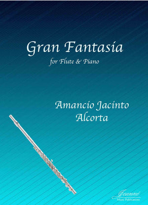 Alcorta (Gudmundson): Gran Fantasia for Flute and Piano
