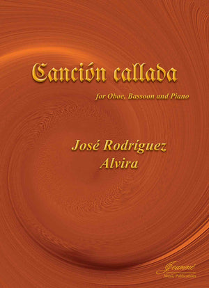 Alvira: Cancion callada for oboe, bassoon and piano