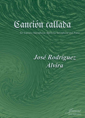 Alvira: Cancion callada for soprano saxophone, baritone saxophone and piano