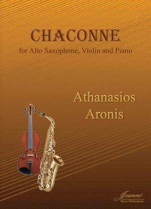 Aronis: Chaconne for Alto Saxophone, Violin and Piano
