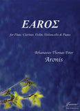 Aronis: Earos for Flute, Clarinet, Violin, Cello and Piano
