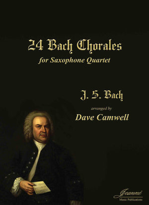 Bach (Camwell): 24 Chorales  arr. for saxophone quartet