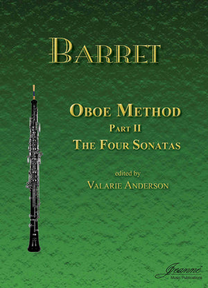 Barret (Anderson): Oboe Method, Part 2 (Four Sonatas)