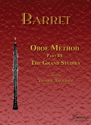 Barret (Anderson): Oboe Method, Part 3 (Grand Studies)