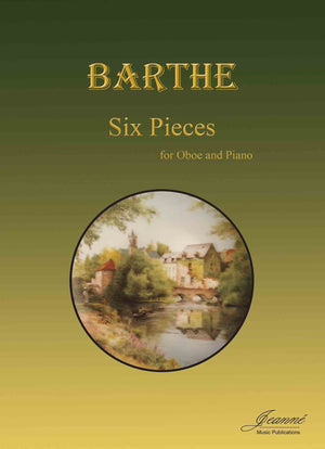 Barthe: Six Pieces for Oboe and Piano