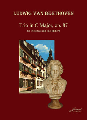 Beethoven (Anderson): Trio in C Major, op. 87 for 2 obpes and English horn [PARTS ONLY]