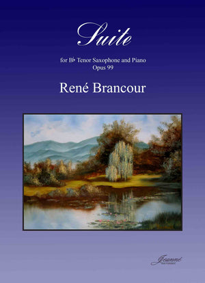 Brancour: Suite for Tenor Saxophone and Piano, op. 99
