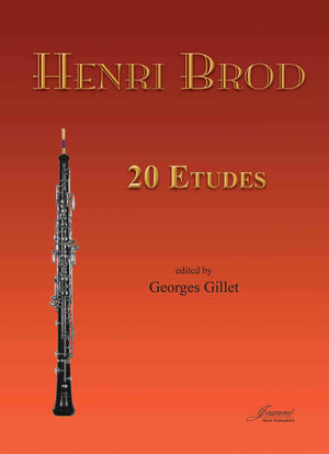 Brod (Gillet): 20 Etudes for Oboe
