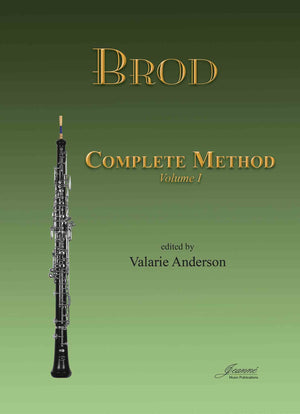 Brod (Anderson): Complete Method for Oboe, vol. 1