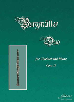 Burgmuller: Duo for Clarinet and Piano