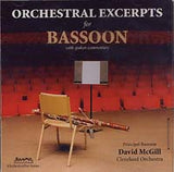 David McGill: Orchestra Excerpts for Bassoon