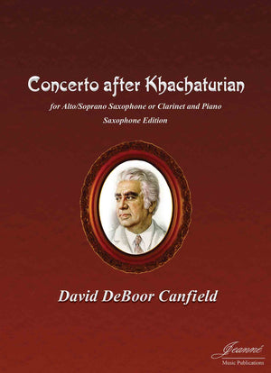 Canfield: Concerto after Khatchaturian (saxophone and piano)