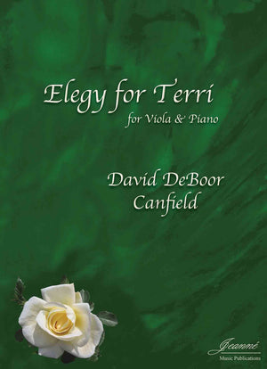 Canfield: Elegy for Terri for Viola and Piano