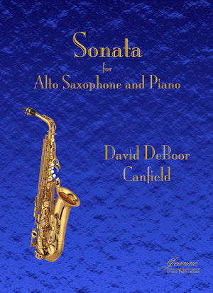 Canfield: Sonata for Alto Saxophone and Piano