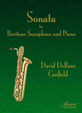 Canfield: Sonata for Baritone Saxophone and Piano