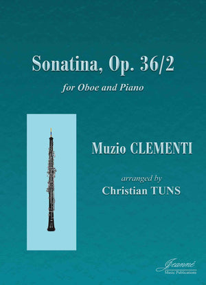 Clementi (Tuns): Sonatina in G Major, op. 36, no. 2 arr. for oboe and piano