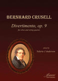 Crusell: Divertimento for Oboe and String Quartet [SCORE]