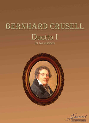 Crusell (Anderson): Duetto I for two clarinets (score)