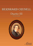 Crusell (Anderson): Duetto III for two clarinets (parts)