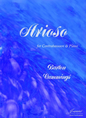 Cummings: Arioso for Contrabassoon and Piano