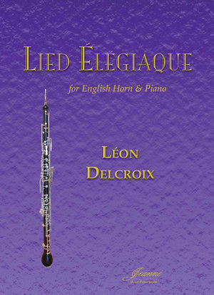 Delcroix: Lied Elegiaque for English Horn and piano