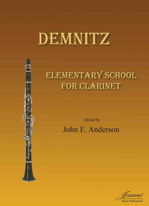 Demnitz (Anderson): Elementary School for Clarinet
