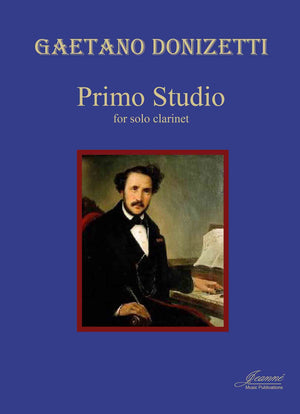 Donizetti: Studio Primo for solo clarinet