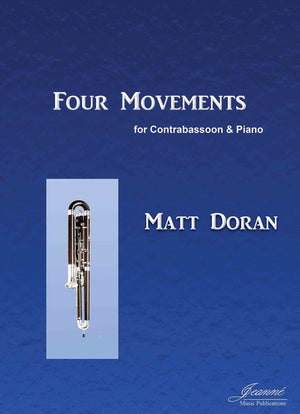 Doran: Four Movements for Contrabassoon and Piano
