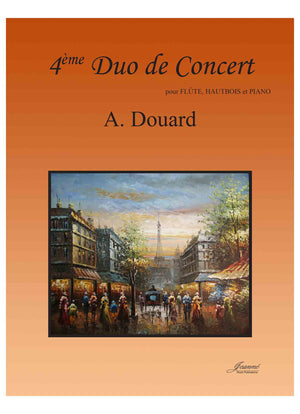 Douard: 4th Duo de Concert for Flute, Oboe, and Piano