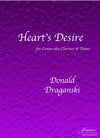 Draganski: Heart's Desire for Contra-alto Clarinet and Piano