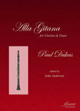 Dukas (Anderson): Alla Gitana for clarinet and piano