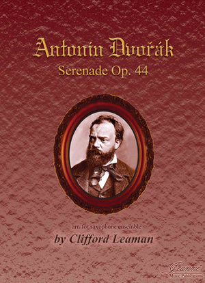 Dvorak (Leaman): Serenade, op. 44 arr. for Saxophone Choir
