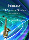 Ferling (Rousseau): 24 Melodic Studies for Saxophone