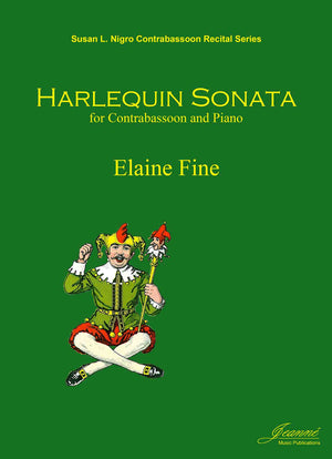 Fine: Harlequin Sonata for Contrabassoon and Piano